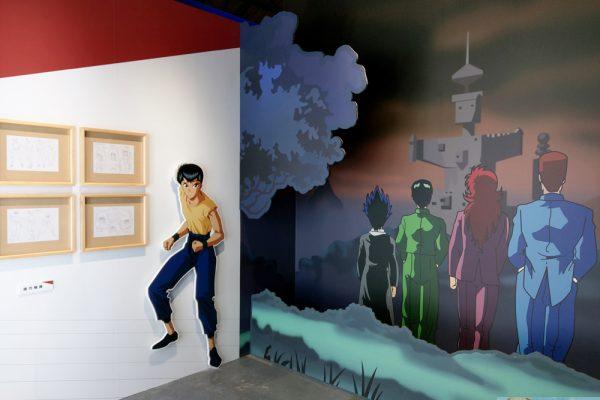 《幽遊白書》特展明日起正式開展 現場展區搶先看